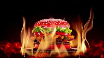 Burger King: Raging Red Bun