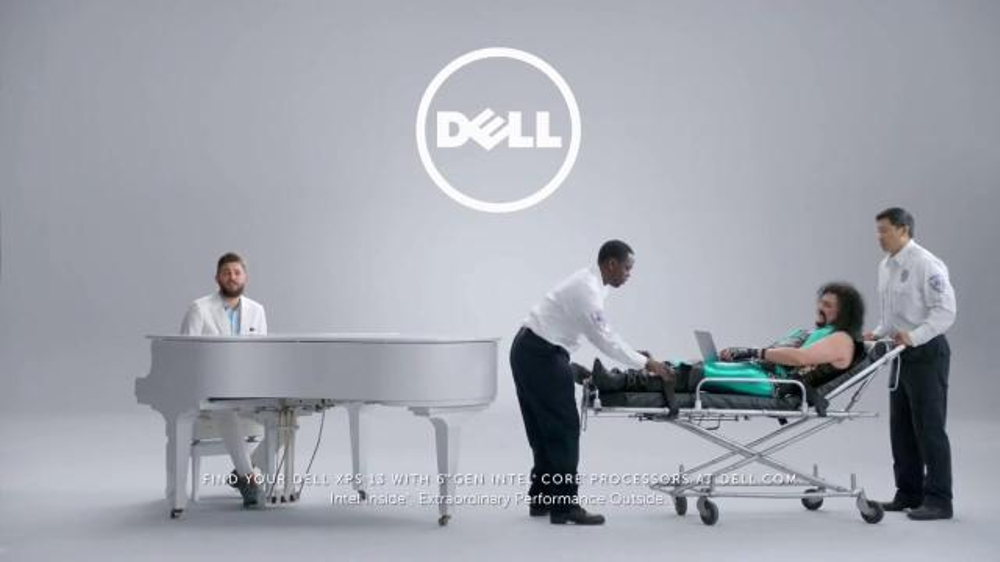 Dell tv spot rock out with price match guarantee screenshot 7