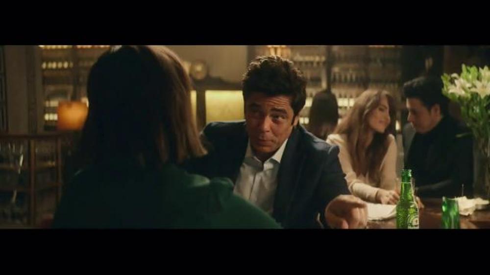 Heineken TV Spot, 'Special Gift' Featuring Benicio del ...