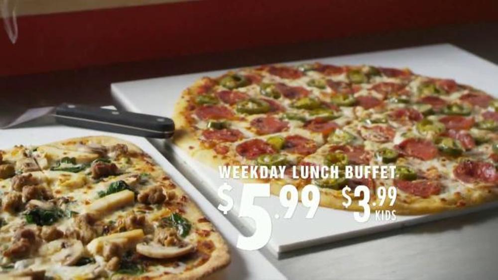chuck e cheese lunch buffet menu
