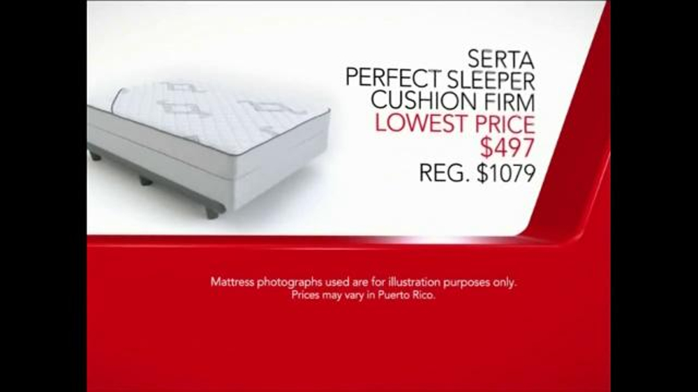Macy s e Day Mattress Sale TV Spot April 2016 iSpot