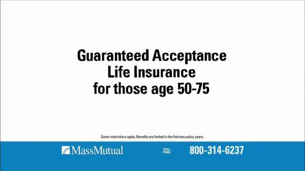 Select Quote Life Insurance Rates: MassMutual Guaranteed Acceptance Life Insurance TV Spot