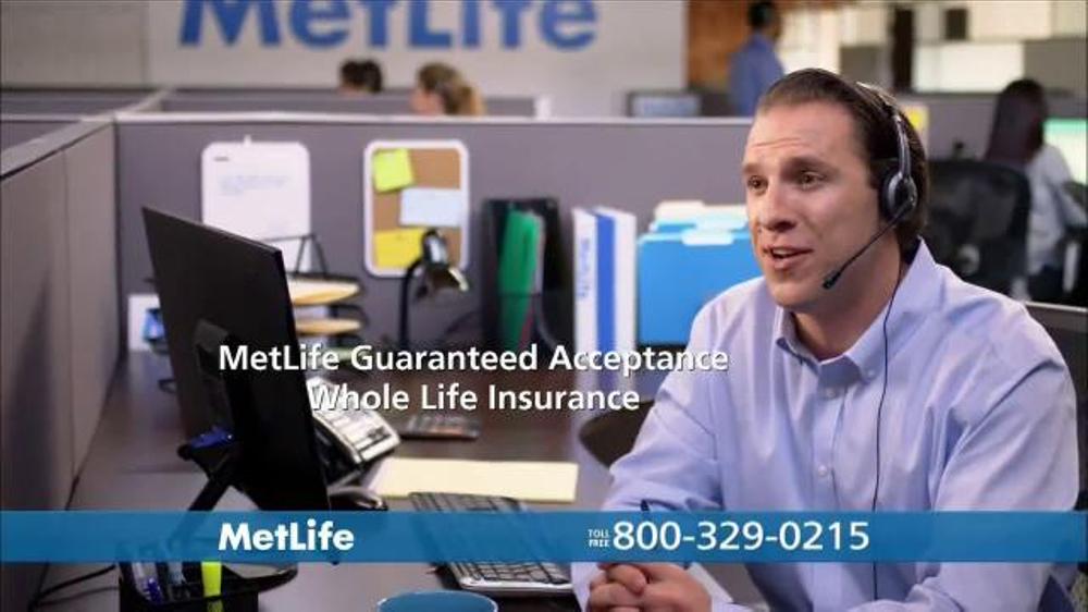Guaranteed Life Insurance Quotes: MetLife Guaranteed Acceptance Whole Life Insurance TV Spot
