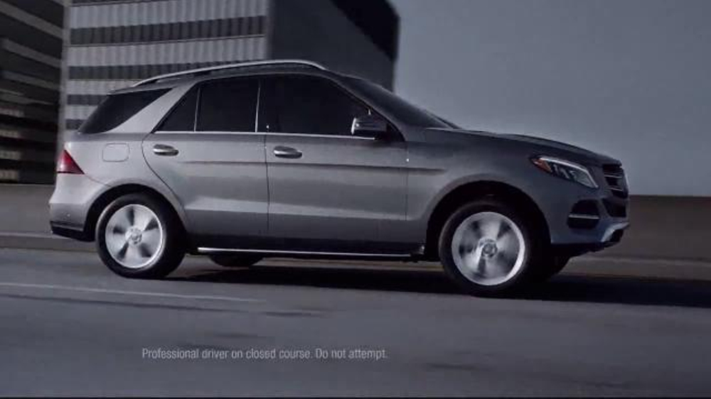 2016 mercedes benz gle 350 tv spot 39 brains meet brawn