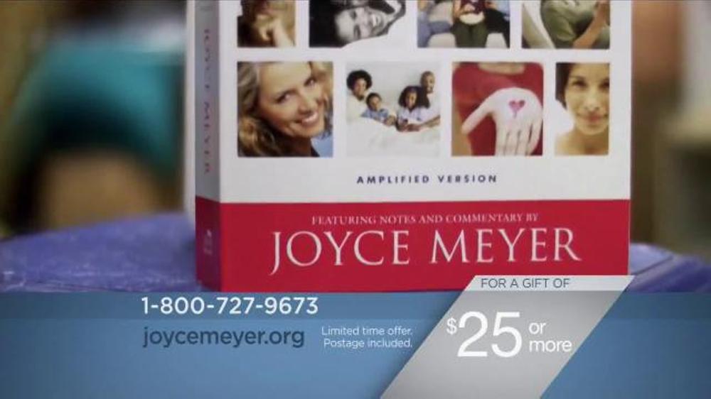 Joyce meyer study bible review