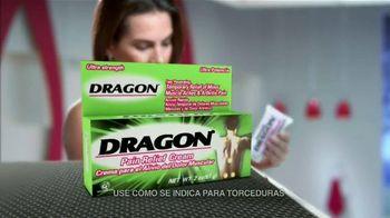 Dragon Pain Relief Cream TV Spot, 'Alivio muscular' [Spanish]