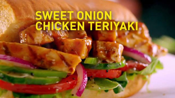 Subway Sweet Onion Chicken Teriyaki TV Spot, 'Legendarily Low Fat'