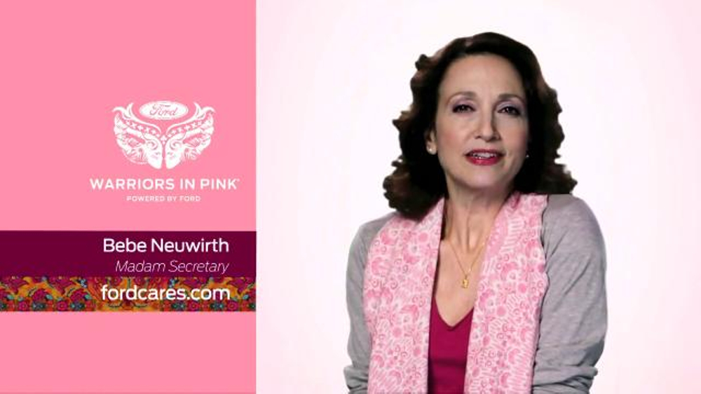 Ford warriors in pink tv spot 39 madam secretary 39 featuring for Bebe neuwirth leaving madam secretary