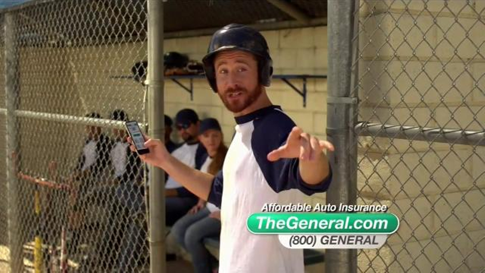 Liberty Mutual Auto Insurance Quote >> The General TV Spot, 'Batter Up' - iSpot.tv