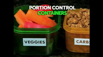 Get Fit Portion Control Containers TV Spot, 'Never Overeat'
