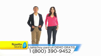 Rosetta Stone TV Spot, 'Programa de inglés' [Spanish]