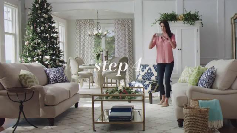 joss and main tv commercial 39 picture perfect holiday 39. Black Bedroom Furniture Sets. Home Design Ideas