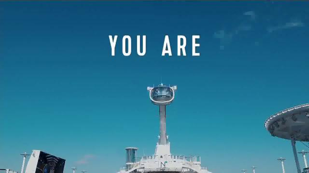 Royal Caribbean Cruise Lines Tv Spot You Are Not A