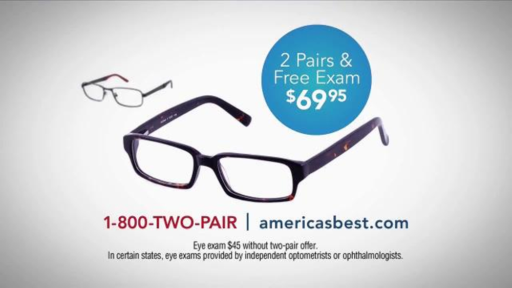 1-800 two pairs eyeglasses