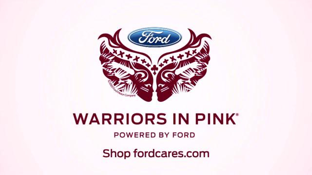ford warriors in pink tv spot 39 tie this on 39 featuring alan cumming. Cars Review. Best American Auto & Cars Review