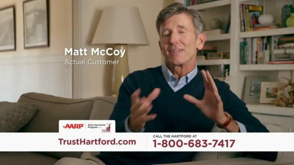 The Hartford Aarp Auto Insurance Program Tv Commercial