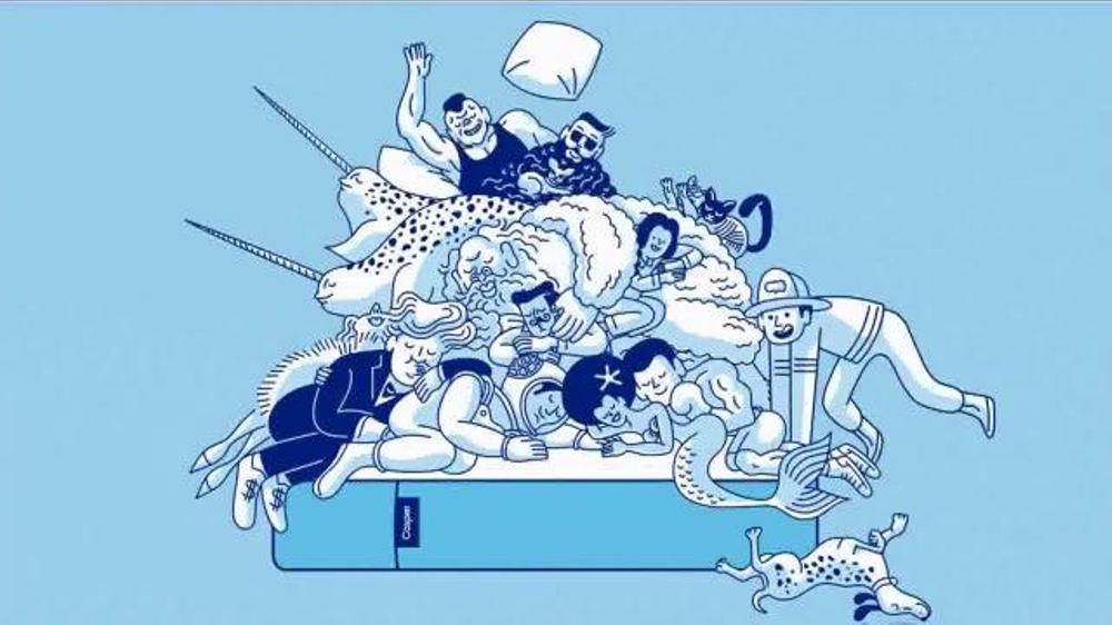 casper tv spot 39the perfect mattress for everyone39 ispottv With casper mattress commercial