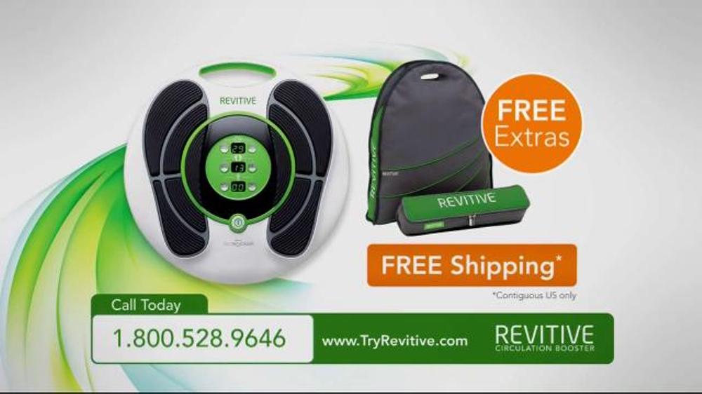 revitive circulation booster tv spot 39 muscle stimulation. Black Bedroom Furniture Sets. Home Design Ideas