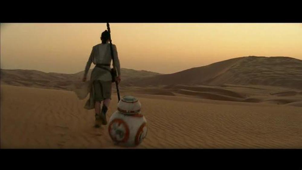 Star wars episode vii the force awakens tv movie trailer ispot tv