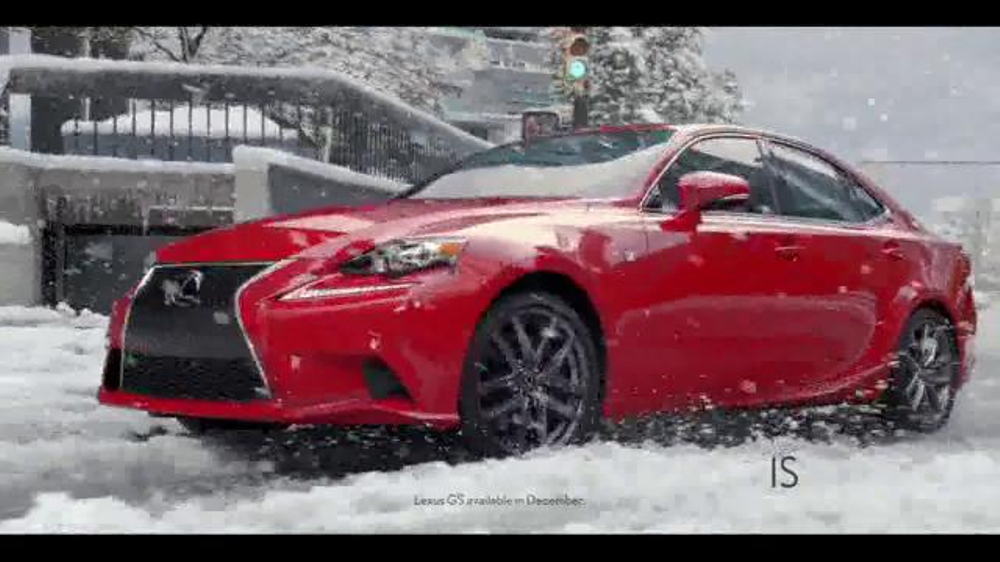 2016 lexus is 300 awd tv spot 39 conquer the weather. Black Bedroom Furniture Sets. Home Design Ideas