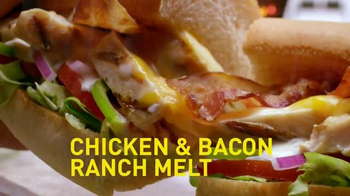 Subway Chicken & Bacon Ranch Melt TV Spot, 'The Craft'