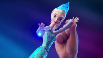 Mattel Disney Frozen Ice Magic Castle and Ice Power Elsa TV Spot, 'Glow' thumbnail