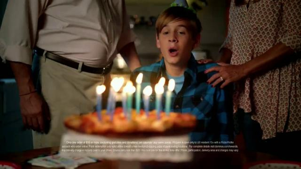 Domino's Piece of the Pie Rewards TV Spot, 'A Little of