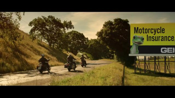 GEICO Motorcycle TV Spot, 'Road Paint' Song by ZZ Top