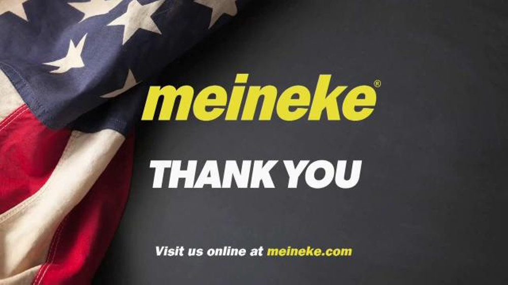 Meineke Car Care Centers TV Commercial, 'Veterans Day ...