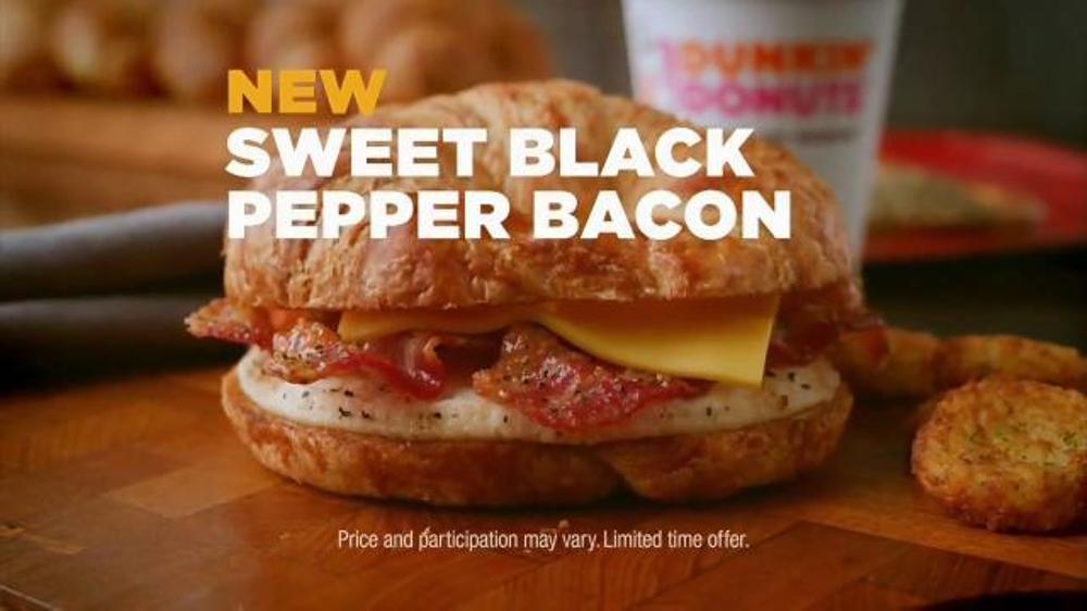 Sweet black pepper bacon sandwich tv spot bacon up screenshot 5