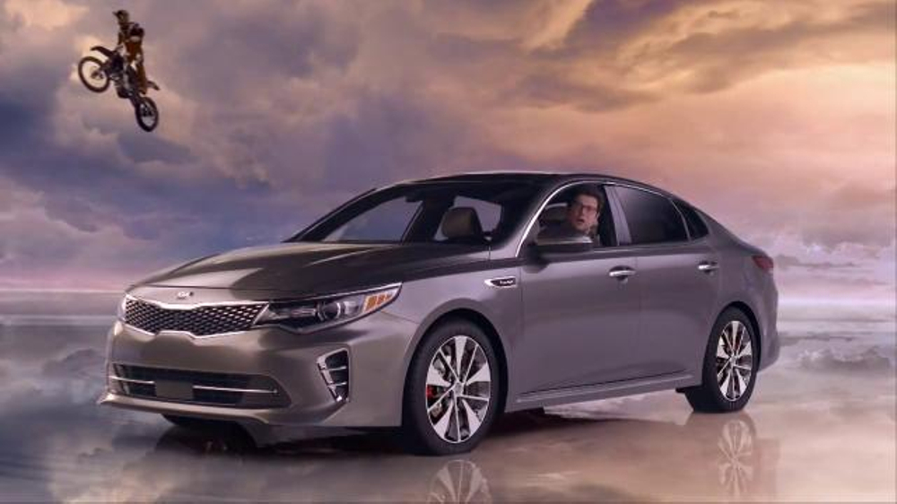 2016 kia optima tv commercial 39 newspaper 39 featuring blake. Black Bedroom Furniture Sets. Home Design Ideas