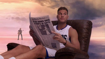 Kia: Newspaper: Blake Griffin