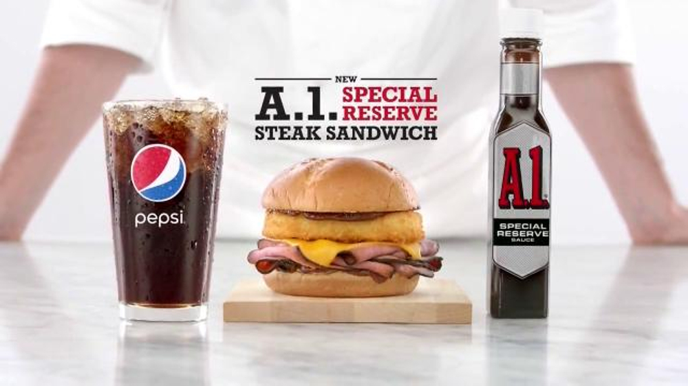 Arby's A.1. Special Reserve Steak Sandwich TV Commercial