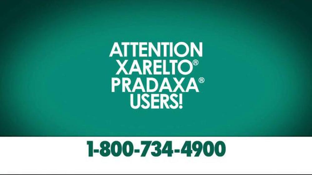 Pulaski Law Firm >> Crumley Roberts TV Spot, 'Xarelto Warning: Serious Bleeding' - iSpot.tv