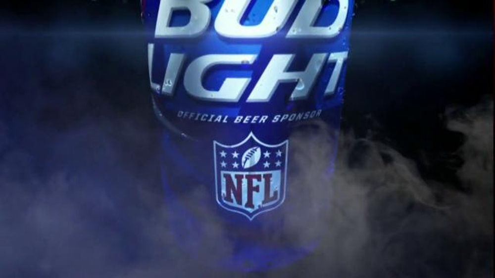 Bud Light Tv Spot Open A Can Of Football My Team Can