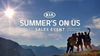Kia: Summer's On Us Sales Event: Summer Adventure