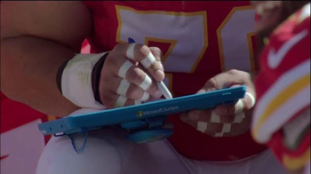 Microsoft Surface TV Spot, 'Falcons vs. Colts Adjustment of the Week'