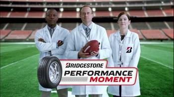 Bridgestone TV Spot, 'NFL: Performance Moment' - 1 commercial airings