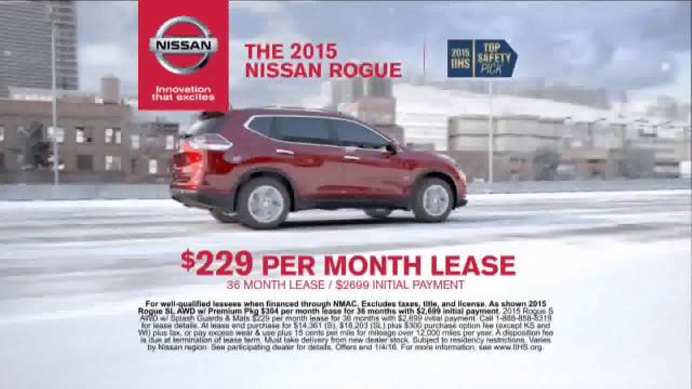 Nissan Holiday Event Tv Spot Rogue And Altima Ispot Tv