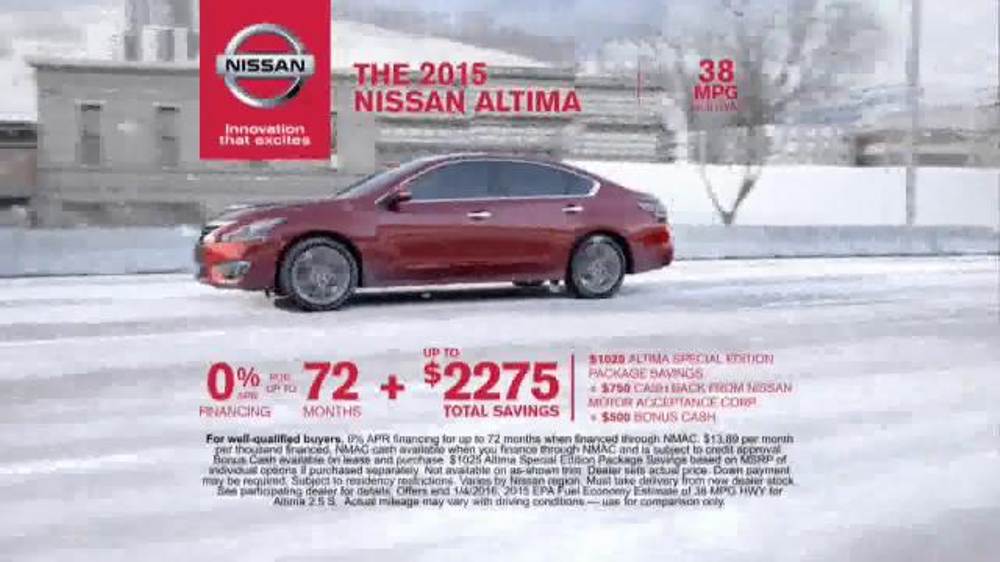 Girl in the nissan altima commercial newhairstylesformen2014 com