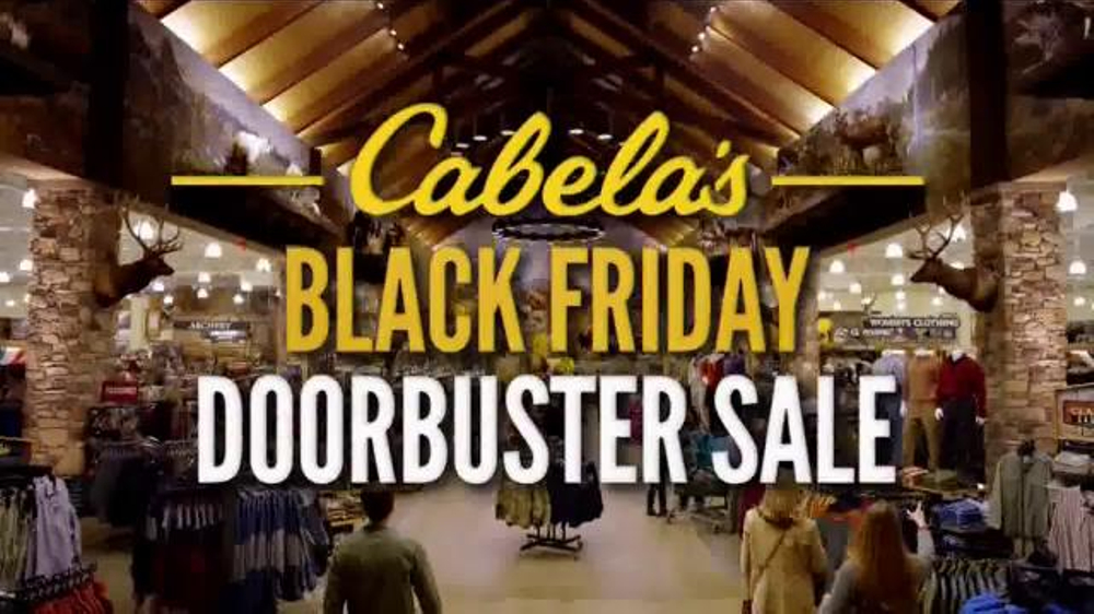 Cabela's Hours for Black Friday. In , Cabela's opened at a.m. on Thanksgiving, but the Cabela's Black Friday doorbusters didn't start until a.m. on Friday. You definitely wanted to get there early because the doorbusters were only good for five hours and /5().
