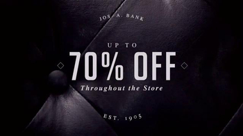JoS. A. Bank After Thanksgiving Sale TV Spot, 'Suits, Shirts and Ties'