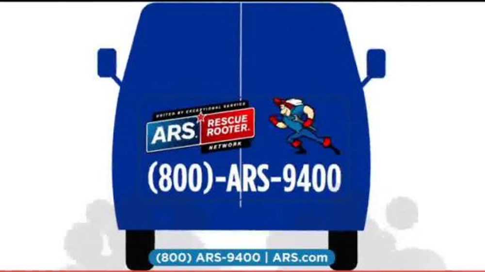 Ars Rescue Rooter Tv Spot Cartoon One Call Will Fix It