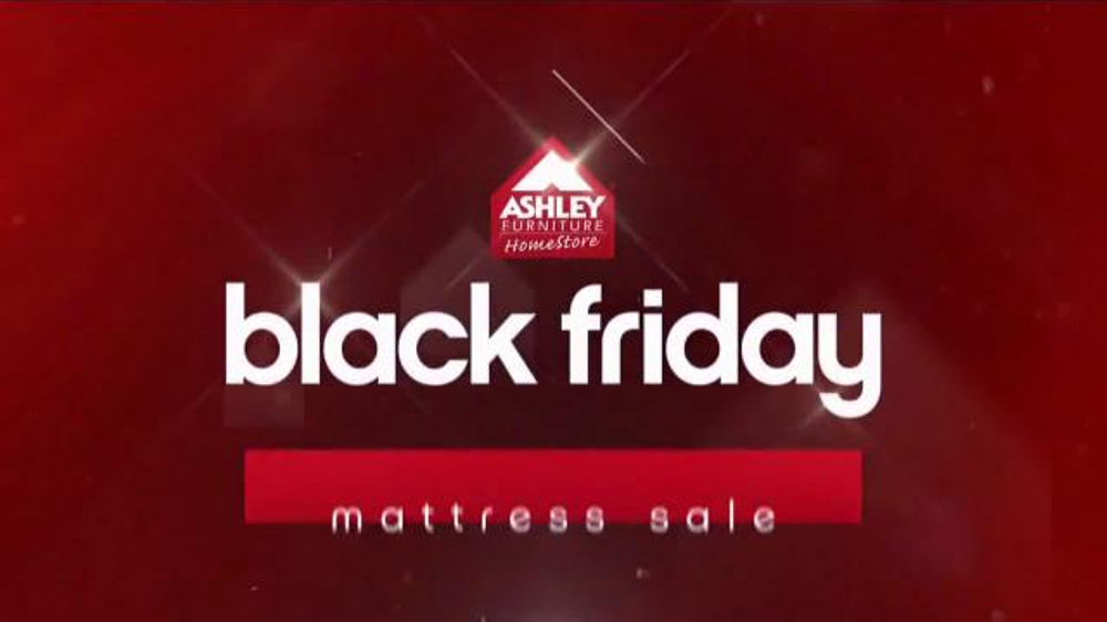 Ashley Furniture Homestore Black Friday Mattress Sale TV