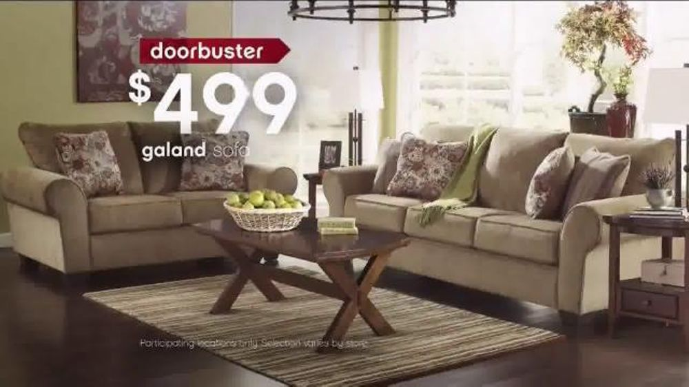 Ashley Furniture Homestore Black Friday 36 Hour Sale TV Spot 39 More Time