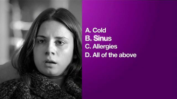 Allegra-D Allergy & Congestion TV Spot, 'The Answer to Winter Allergies'