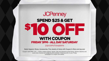 JCPenney Black Friday Continues TV Spot, 'Sweaters and Kitchen Electrics'