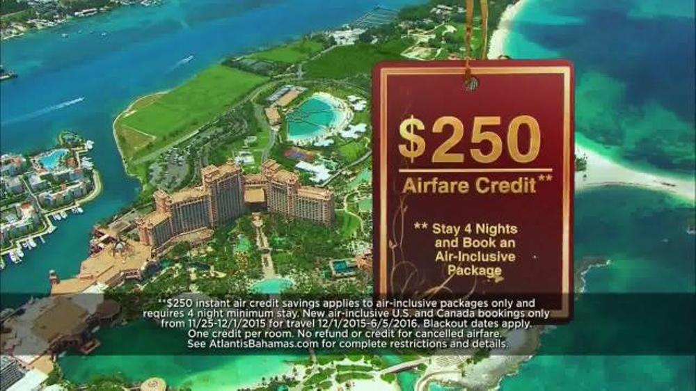 Atlantis Bahamas Tv Spot Gift To You Ispot Tv