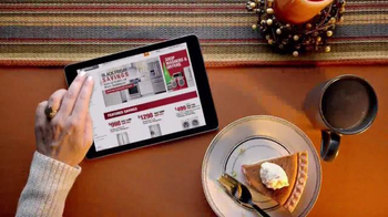 The Home Depot Black Friday Savings TV Spot, 'Trees, Tools and Appliances'