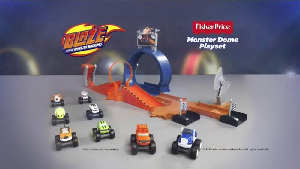 blaze and the monster machines monster dome playset instructions